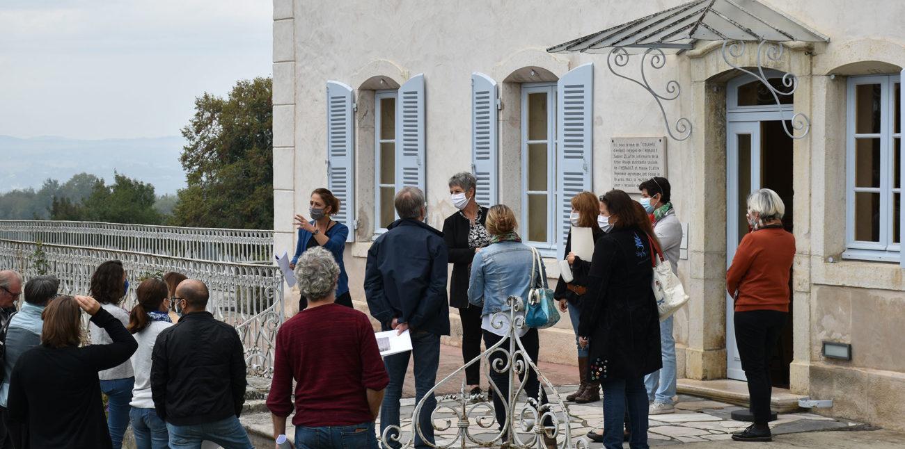 Les éducateurs de la PJJ en visite à la Maison d'Izieu © Maison d'Izieu