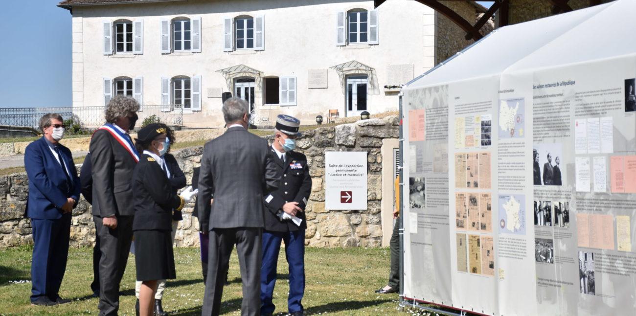 Journée nationale du souvenir des victimes de la déportation à Brégnier-Cordon et Izieu © Maison d'Izieu